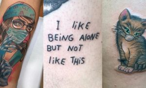 COVID-19 Tattoos
