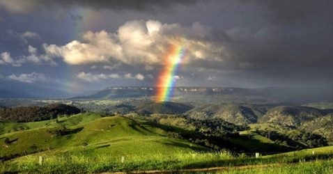 breathtaking rainbow photos