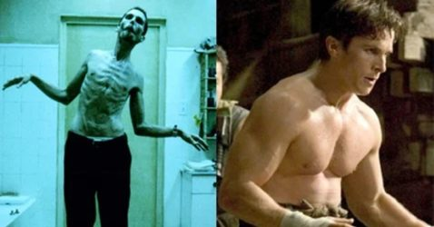 hollywood actors transformation