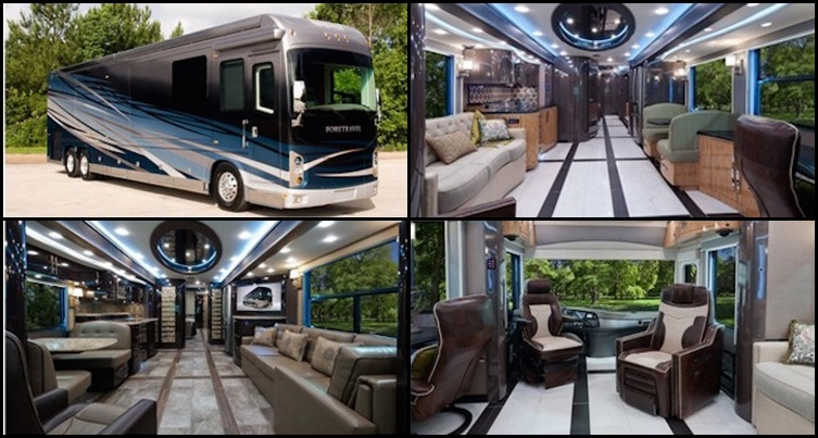 luxurious motorhomes
