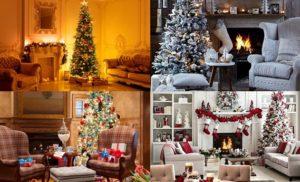 Christmas Living Room Set-Ups