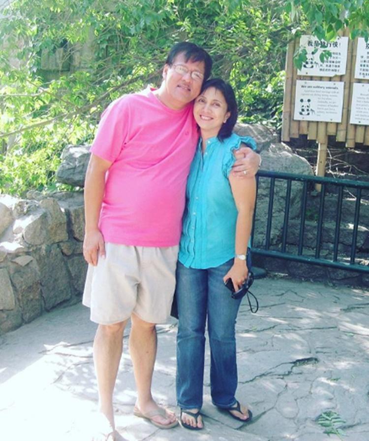 Jesse and Leni Robredo