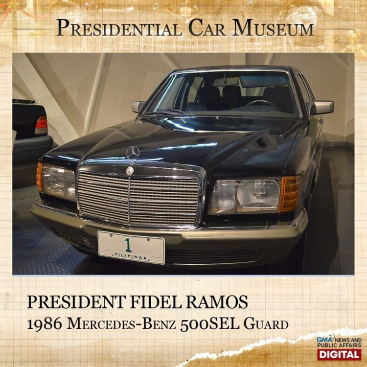 Philippine Presidential Cars
