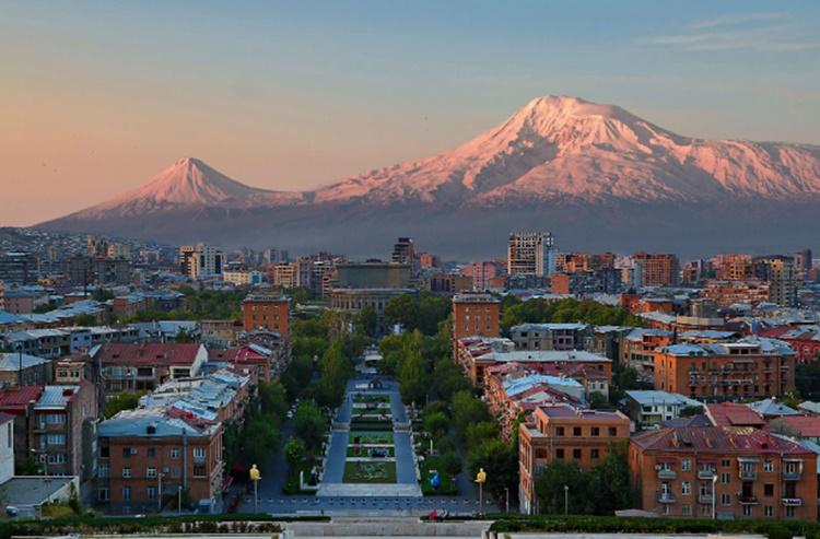 armenia pink city