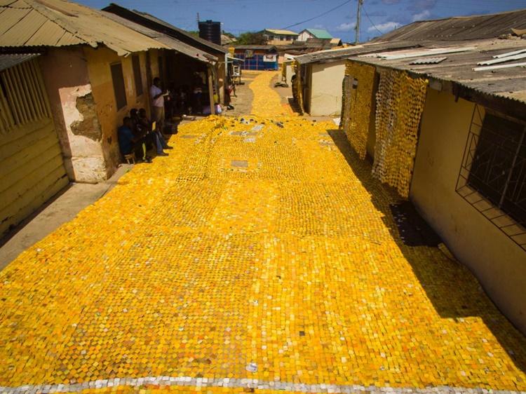 ghana yellow brick road