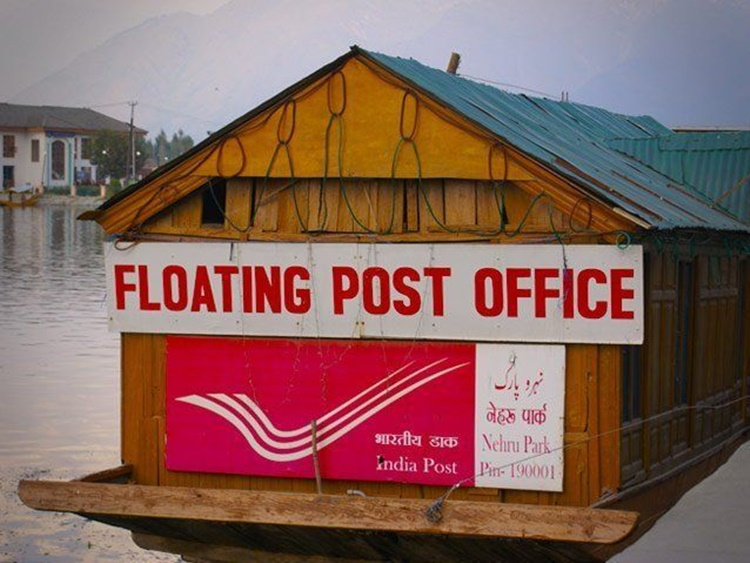 india floating post office