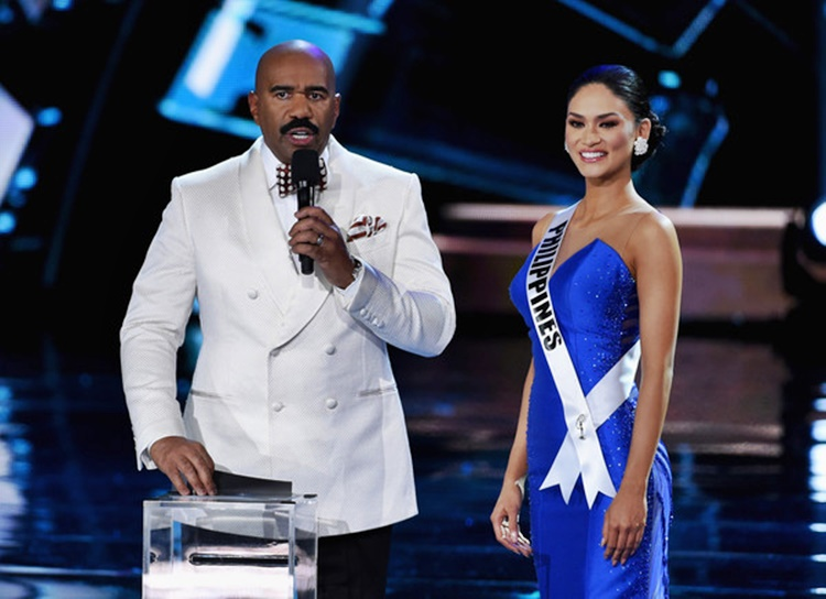 Steve Harvey and Pia Alonzo Wurtzbach