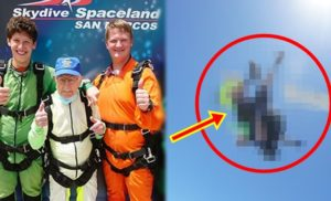 103-Year-Old Man Parachute Jump Guinness