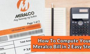 Meralco Electricity Bill Compute