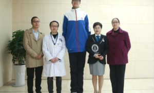 World's Tallest Teenager