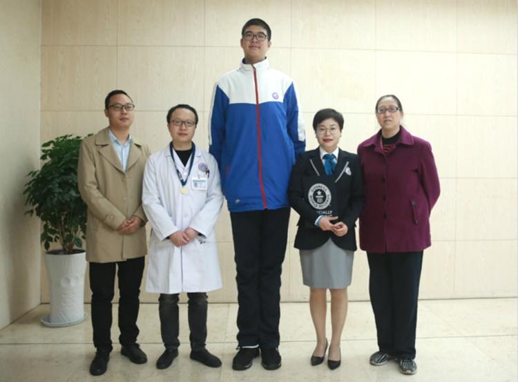World's Tallest Teenager