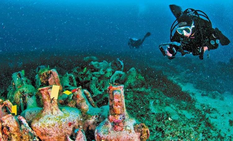 greece underwater museum