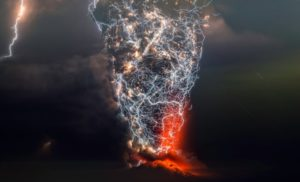Volcanic Eruptions Lightning Storms