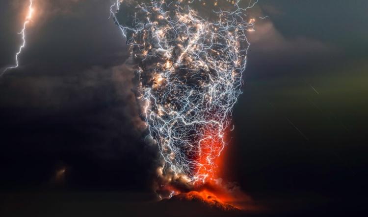 Volcanic Eruptions Lightning Storms