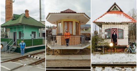 ukraine railroad ladies