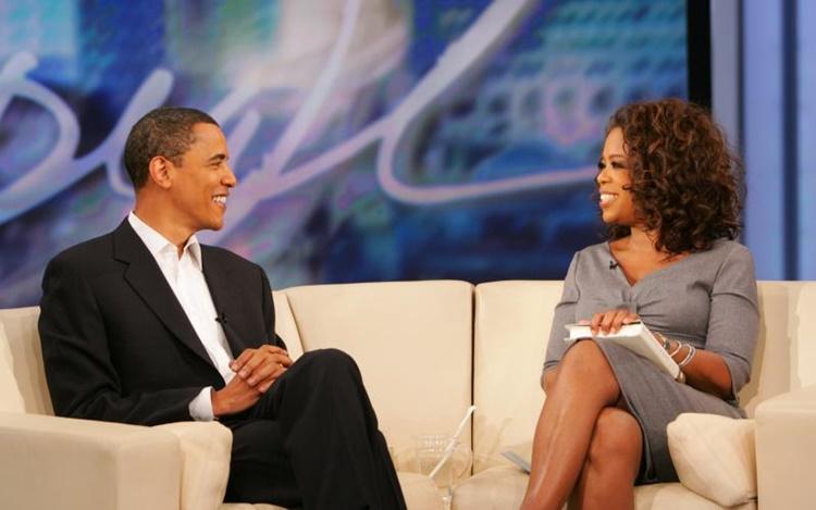 Oprah Winfrey, Barack Obama