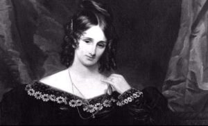 frankenstein author mary shelley