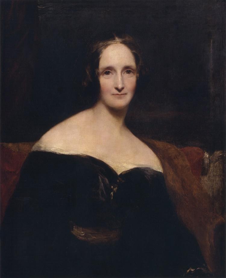 frankenstein author mary shelley