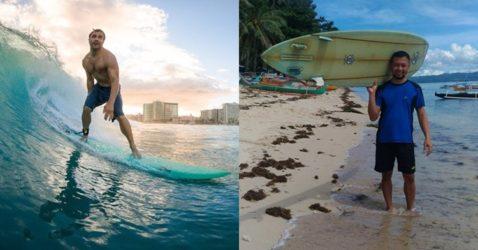 surfboard from hawaii