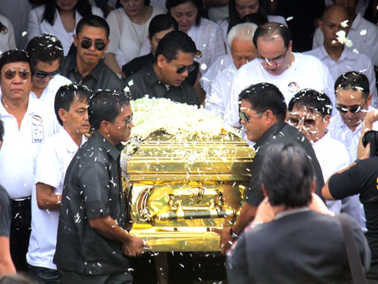 Dolphy Burial