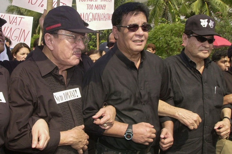 Dolphy, Fernando Poe Jr, Eddie Garcia