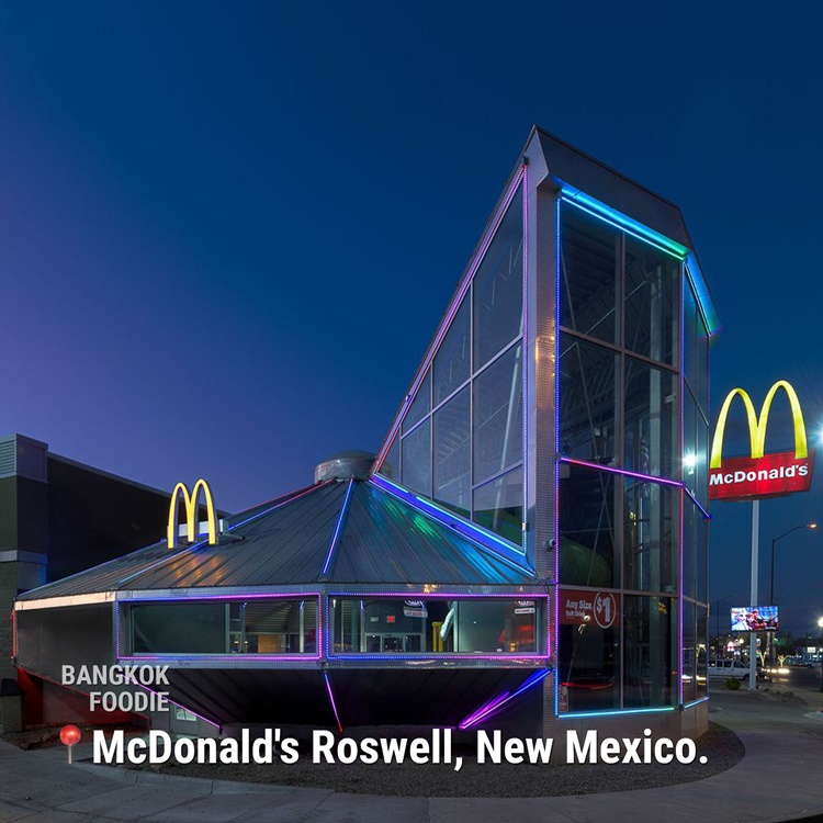 Unique McDonald's Fast Food Chain