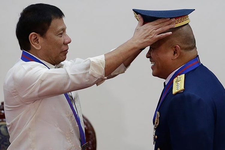 Bato dela Rosa, President Rodrigo Roa Duterte