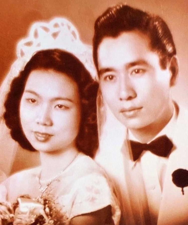 Henry Sy Sr and Felicidad Tan