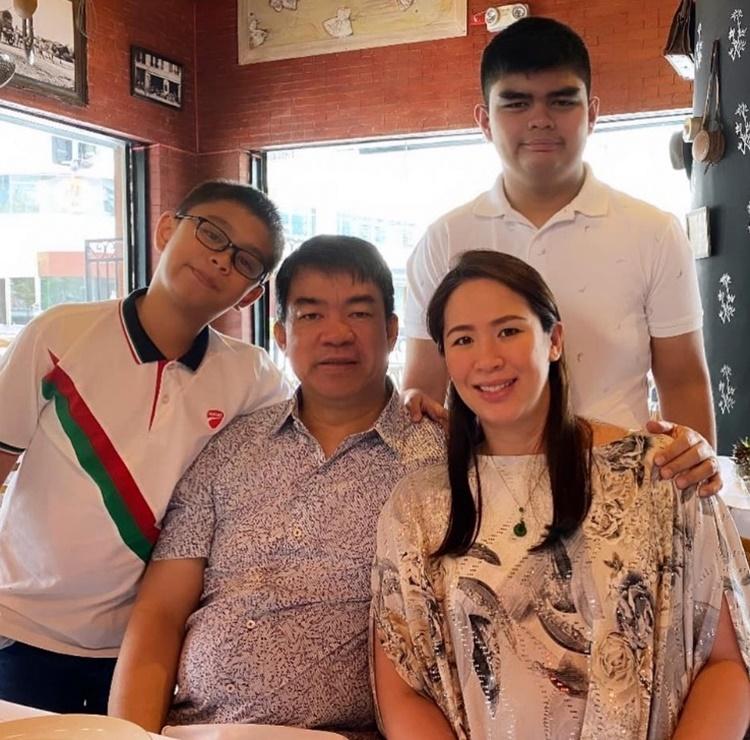 Koko Pimentel Family