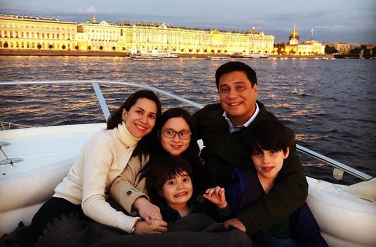 Migz Zubiri Family