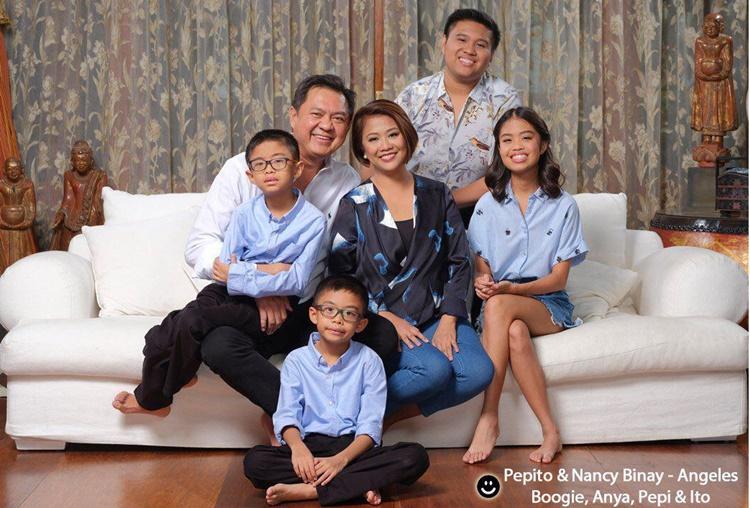 Nancy Binay Family