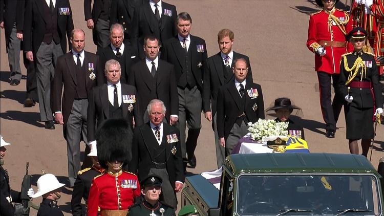 Prince Philip Burial