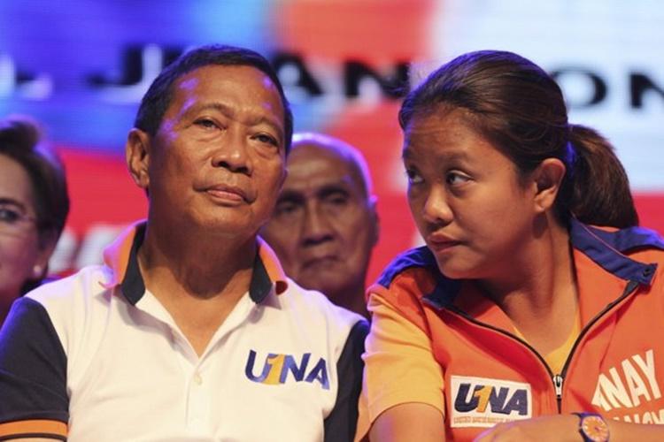 Vice Pres. Jejomar Binay, Nancy Binay