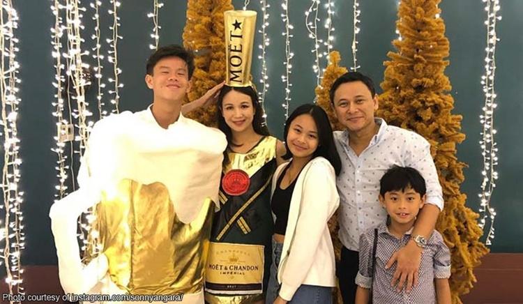 Sonny Angara Family