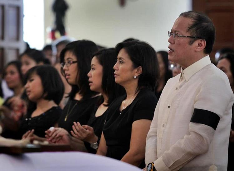 Vice President Leni Robredo, President Noynoy Aquino