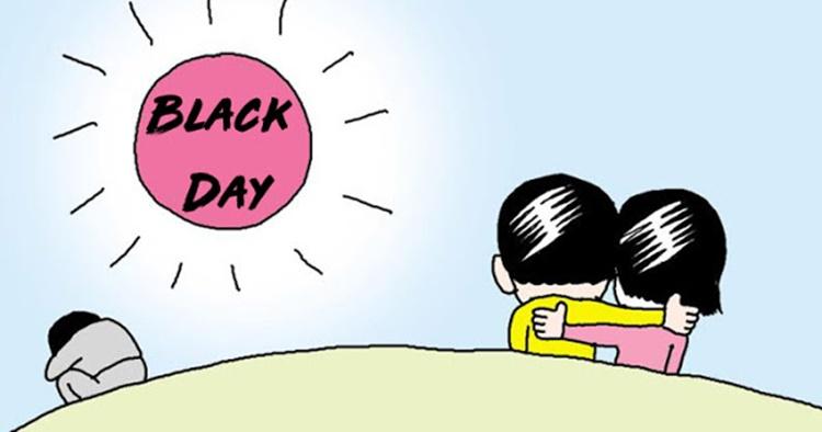 black day in south korea
