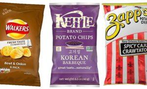 Weirdest Potato Chips Flavors
