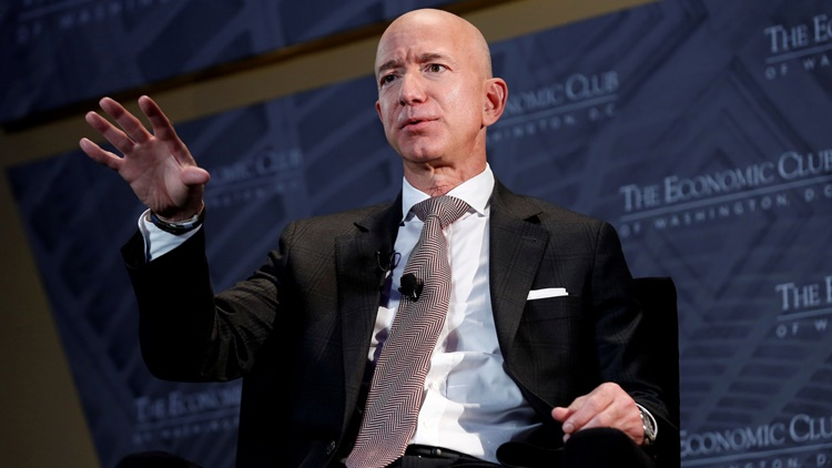 Amazon, Blue Origin Founder