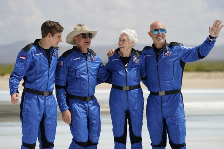 Blue Origin Space Flight