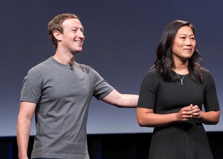 Mark Zuckerberg, Wife Priscilla Chan