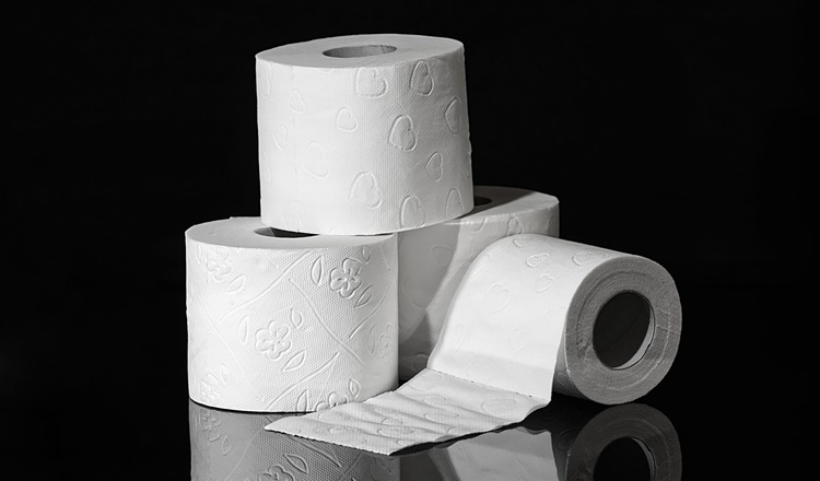 before toilet paper