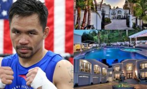 Billionaire Manny Pacquiao, Beverly Hills Mansion