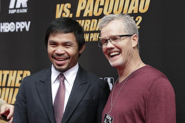 Freddie Roach's Net Worth, Manny Pacquiao