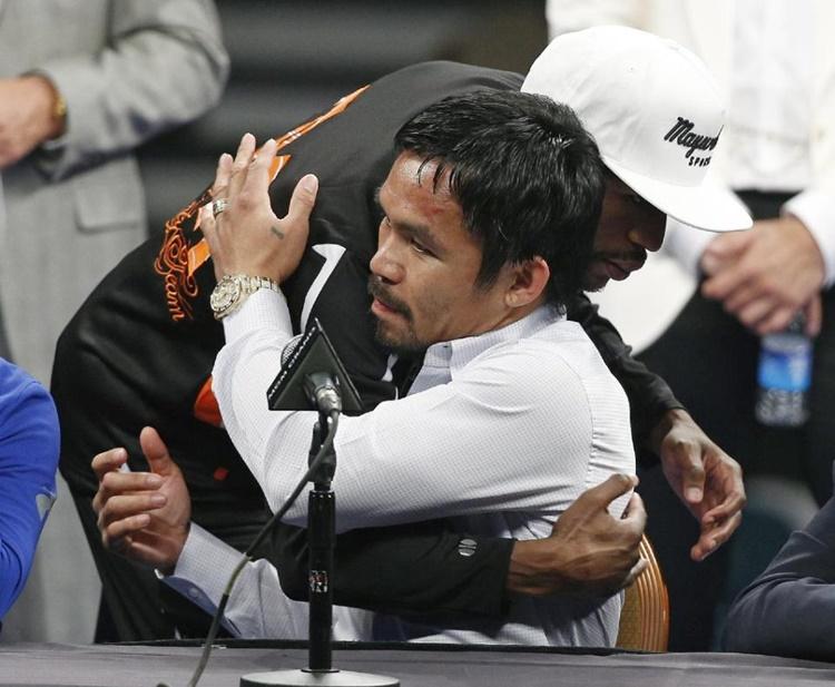 Floyd Mayweather Jr., Manny Pacquiao