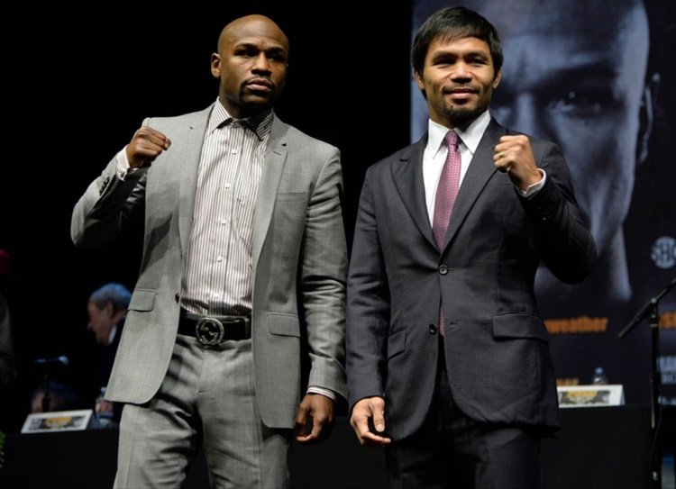 Manny Pacquiao's Boxing Earnings Vs. Floyd Mayweather