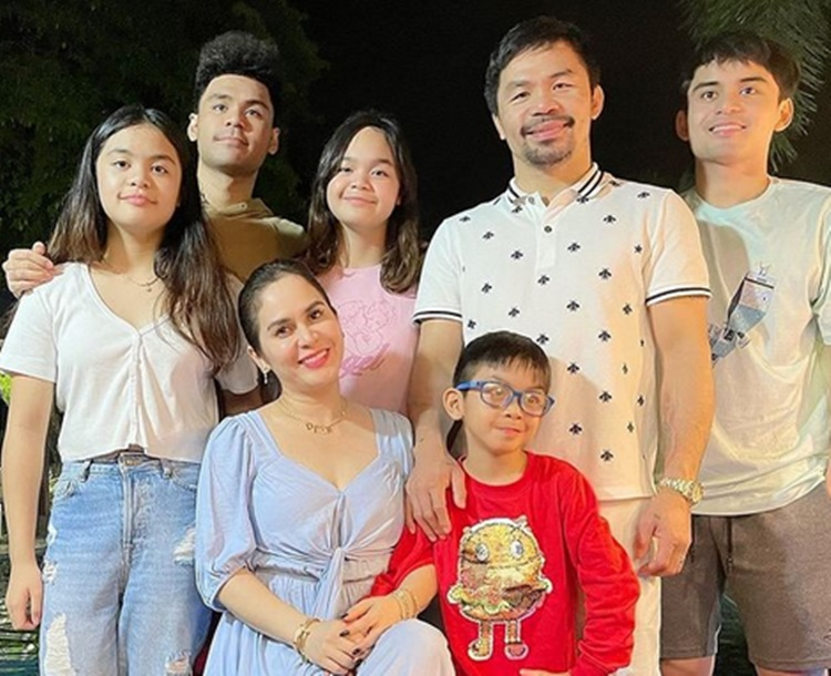 Manny and Jinkee Pacquiao Family