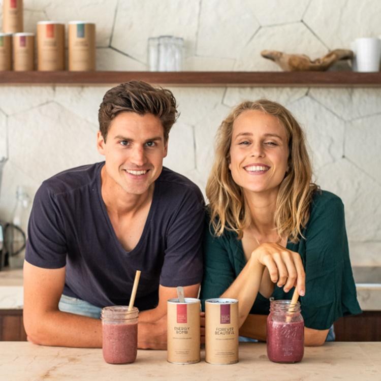 Tennis Player Couple Michael Kuech and Kristel de Groot