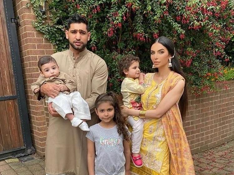 Amir Khan Family