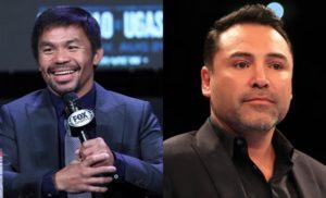 Manny Pacquiao's Earnings, Oscar dela Hoya