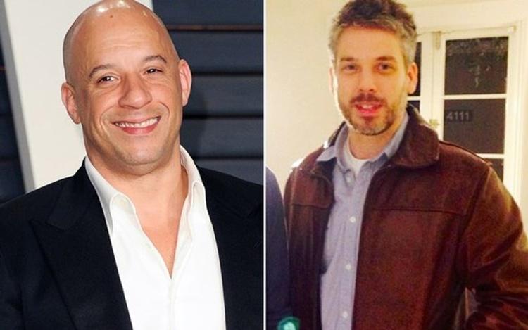 Vin Diesel, Twin Brother Paul